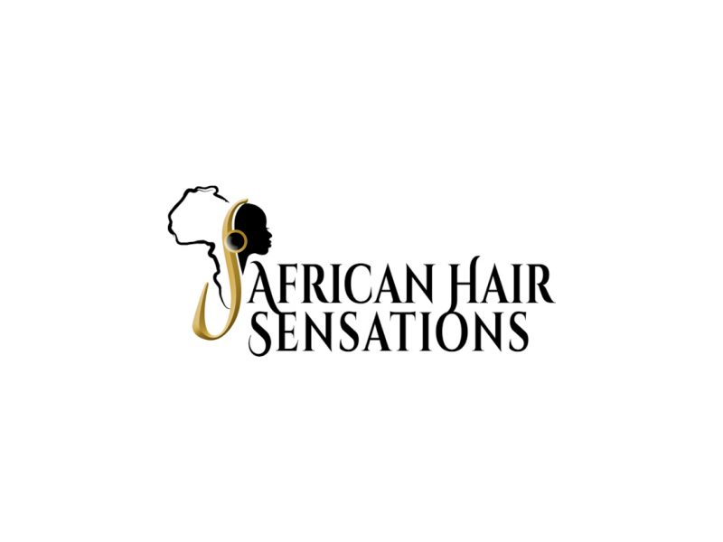 Logo Design | African Hair Sensations | Our Work | Odd Poppy