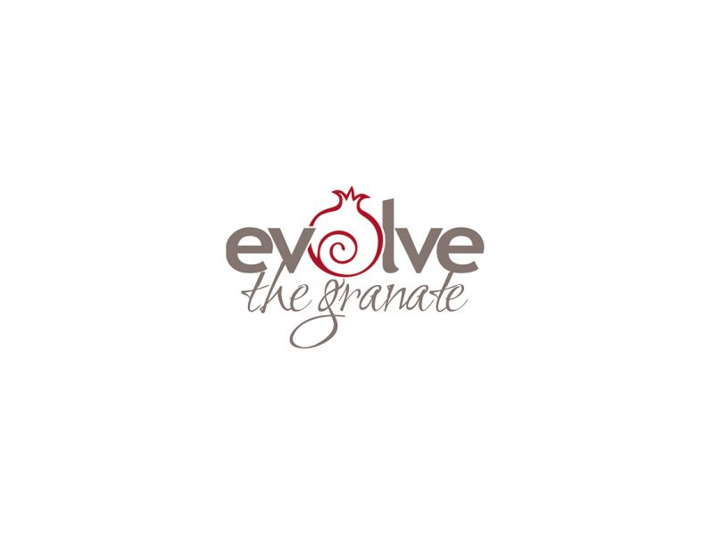 Logo Design | Evolve the Granate | Our Work | Odd Poppy