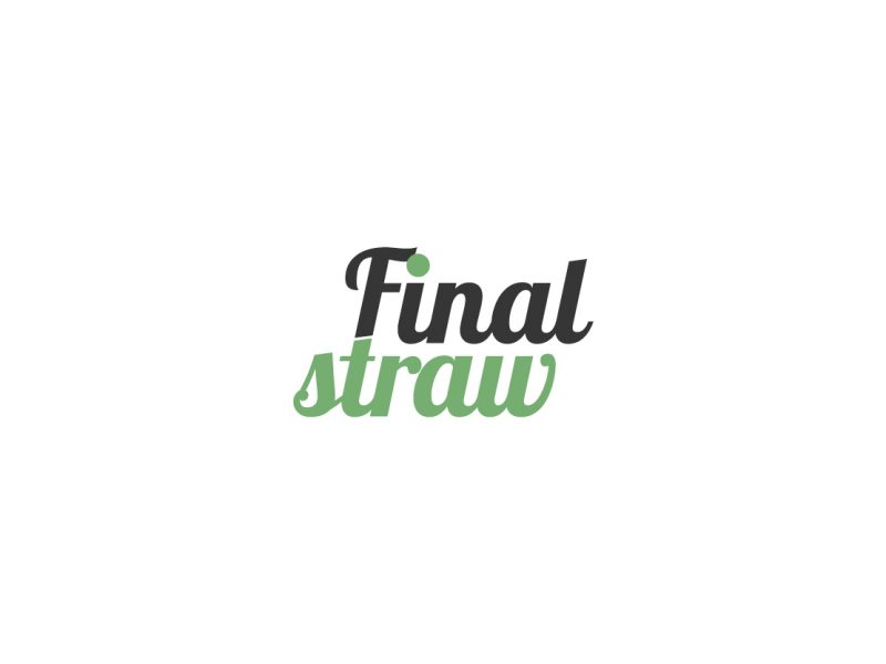 Logo Design | Final Straw | Our Work | Odd Poppy