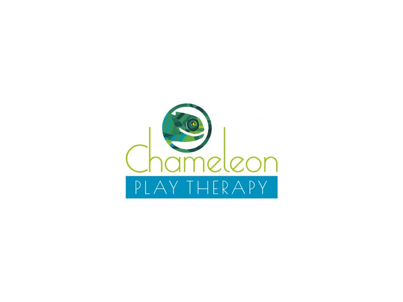 Logo Design | Chameleon Play Therapy | Our Work | Odd Poppy