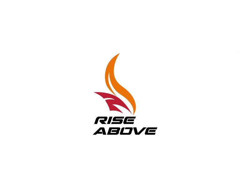 Logo Design | Rise Above Foundation | Our Work | Odd Poppy